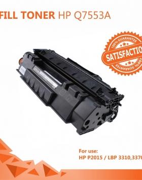 Refill Toner HP 53A