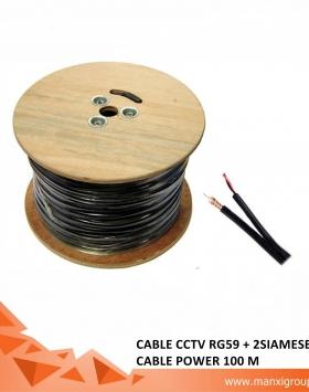 Jual Kabel CCTV RG59 100 M