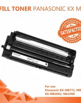 Refill Toner Panasonic KX MB772,