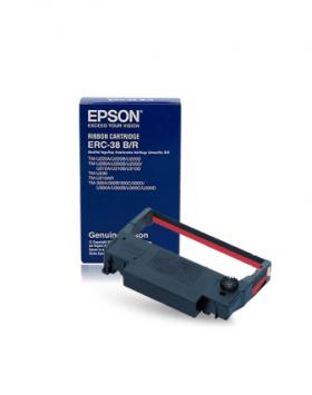 Epson TMU 220 ERC-38 Black/Red Murah